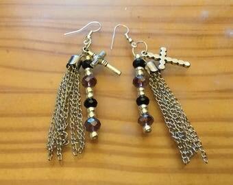 Tassel that earrings
