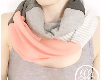 Infinity scarf in bamboo!