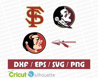 Florida State SeminolesSvg Dxf Eps Png Cut File Pack