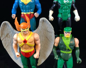 Vintage dc super powers figure lot