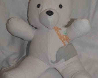 Fast Turn Around Keepsake Bear, Memory Bear, Keepsake Memory Bear