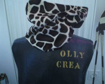 Snood adult giraffe handmade new