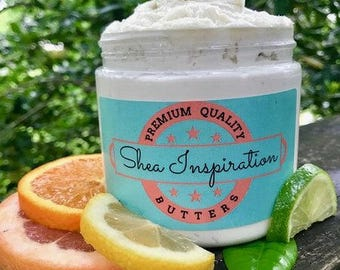 Whipped Citrus Shea Butter