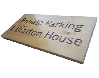Custom Made Address Plaque|Address Sign|House Signs|Wooden Sign|Bespoke Address Sign|Outdoor Sign|Carved Sign|Engraved Sign