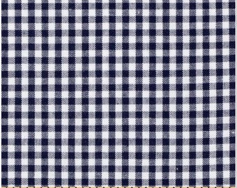 FREE Shipping (orders 35+ dollars) Robert Kaufman Navy Carolina Gingham; Fat Quarter or By the Yard: P-5689-18 NAVY