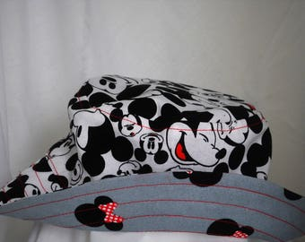 Mickey and Minnie inspired bucket hat