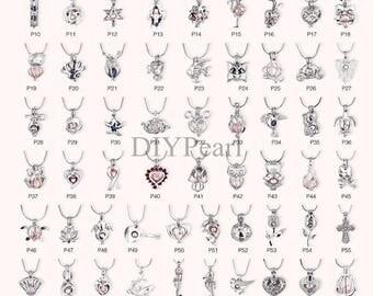 1PCS Cage Pendant,Locket Charms,Locket Cage Pendants,Pearl Cage Pendants,Lockets,Wholesale,HBCP-ALL-1