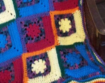 Gorgeous baby afghan