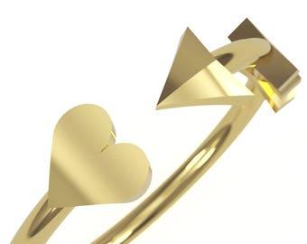 14kt Yellow Gold Women Wedding Band / Fashion Ring - Custom Design - Handmade - Recycled gold - Women's Wedding Band