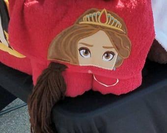 Prince elana hooded towel