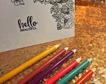 Coloring Pages, Birthday Gift For Her, Birthday Gift For Him, Bridal Party Gift, Best Friend Gift, Friend Gift, Mother Gift, Mother's Gift