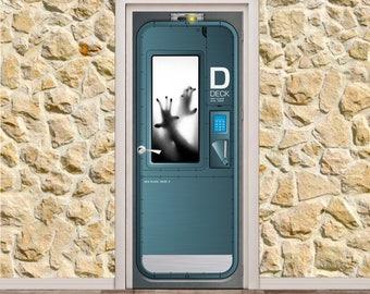 "Lab Door Poster/Sticker (31"" x 79""   80 x 200 cm)"