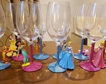 Glitter princess glasses