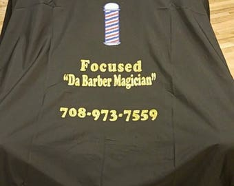 Custom Beauty and Barber Capes: