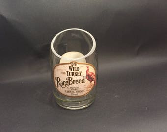 Wild Turkey Rare Breed Bourbon WHISKEY BOTTLE Soy Candle.  750ML. Made to Order !!!!!