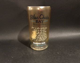 Kenny Chesney Candle Blue Chair Bay Key Banana Rum Cream Bottle Soy Candle. Made To Order !!!!!!!