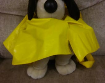Wallace and Gromit Rucksack bag cuddly toy rain figure