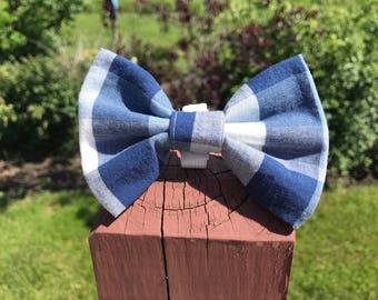 WRIGLEY'S PLAID bow tie