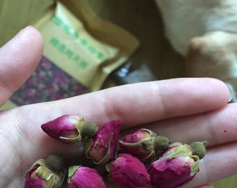 500 grams Dried Natural Rose Bud Heads
