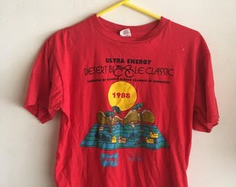 Vintage 1980s Bicycle T-shirt