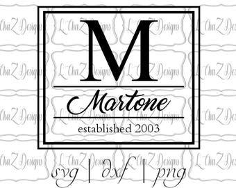 Monogram Block - Fully Customized Digital or Physical