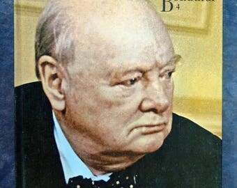 Summer Sale A Man of Destiny: Winston S. Churchill by the Editors of Country Beautiful 1st Edition