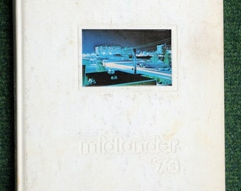 Midlander 1973 Middle Tennessee State University Yearbook Annual