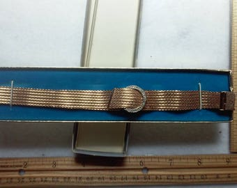 ladies gold covered watch