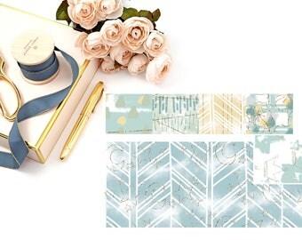 Littlest Things // Vertical Washi Sheet