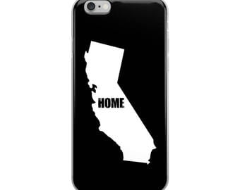California Home iPhone Case - Iphone 7 case - Iphone 8 case - Iphone 7 plus case - Iphone 6 case - Iphone X case