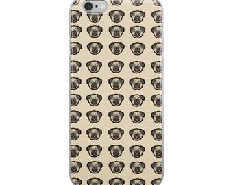Pug Dog Funny iPhone Case - Iphone 7 case - Iphone 8 case - Iphone 7 plus case - Iphone 6 case - Iphone X case
