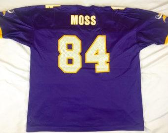 Vintage Champion NFL Jersey Minnesota Vikings Randy Moss