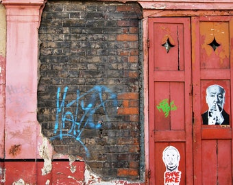 Spitalfields shutters, Spitalfields, London, photo print, terrace houses, Townscape Photography, Picturesque print, England,