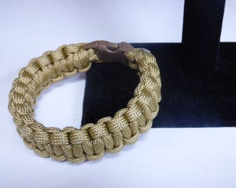 Survival Bracelet Paracord Rope Cobra Weave 550 Paracord Custom