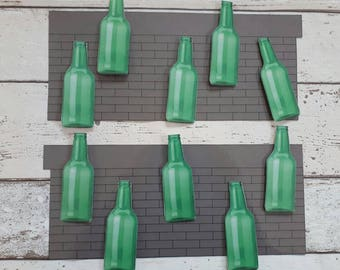 10 green bottles song, nursery song, counting song, counting rhyme, interactive resource, for nursery or Reception class, EYFS, SEN