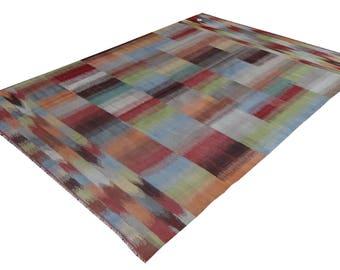 FREE SHIPPING-Handmade Modern Kilim Rug