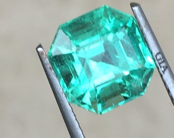 Natural Emerald 3.71ct GIA colombia