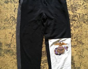 Vintage MCM Legere Embroidered Logo Sweatpants