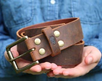 Leather Belt, Mens Belt, Mens Belt Leather, Custom Belt, Gift for Him, Brown Belt