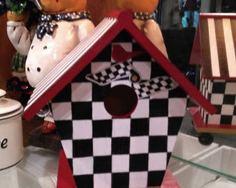 Whimsical Birdhouse Inspired by MacKenzie Childs