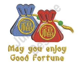 Good Fortune - Machine Embroidery Design