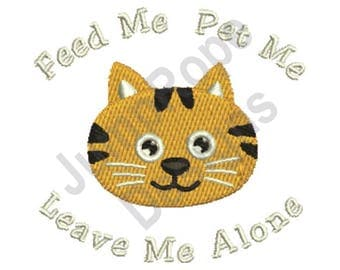 Feed Me - Machine Embroidery Design