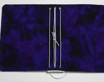Purple Batik Pocket Traveler's Notebook Cover