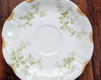 Small tea plate, bone china