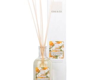 Welsh fresh Lime Flower & Bergamot Home Fragrance Diffuser