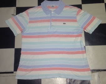 Lacoste multicolors polo tshirt