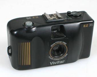 Vivitar Ez35 35Mm Point & Shoot Camera
