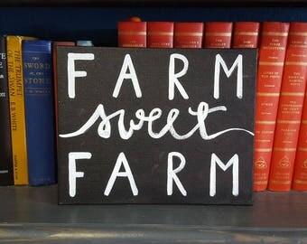 Canvas Art- Farm Decor