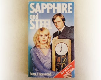 Peter Hammond - Sapphire and Steel - BBC TV sci fi fantasy fiction vintage paperback book - 1979
