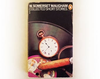 W Somerset Maugham - Collected Short Stories 1 - Penguin vintage paperback book - 1980
